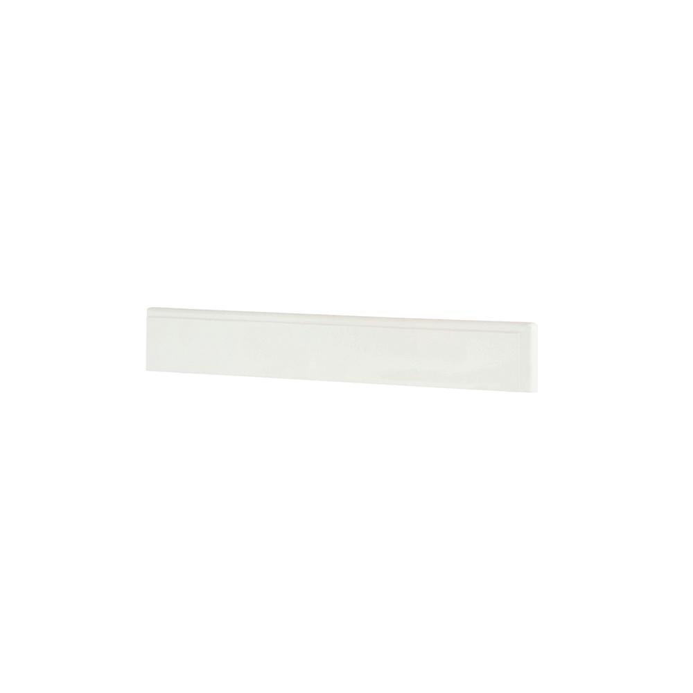 Winslow 26 in. Marble Backsplash in White