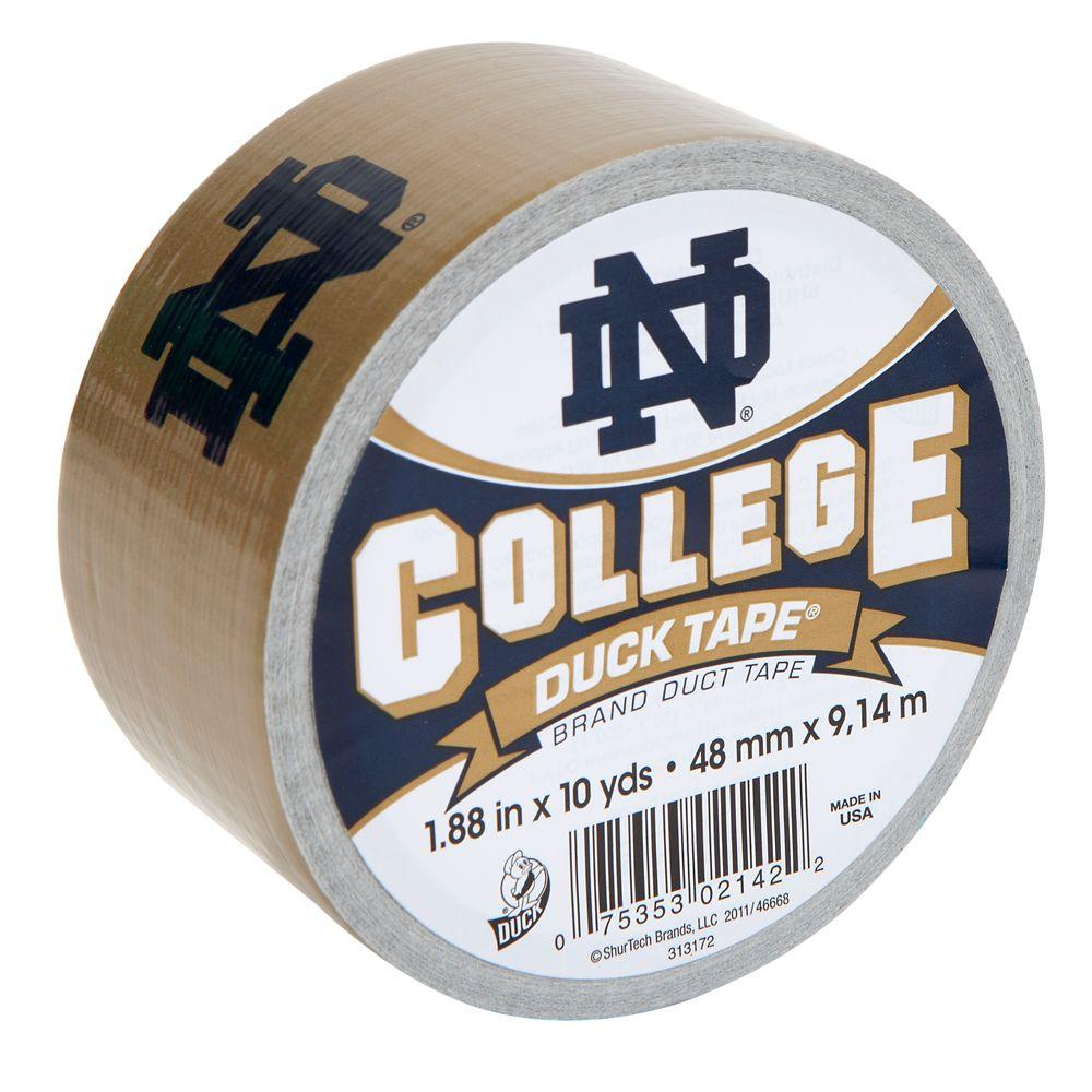 Duck College 1-7/8 in. x 30 ft. Notre Dame Duct Tape (6-Pack)