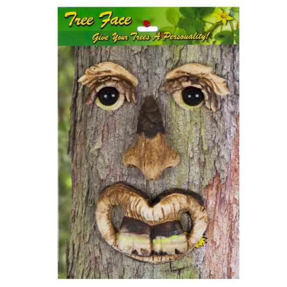 Bucky Tree Face Lawn/Garden Decoration