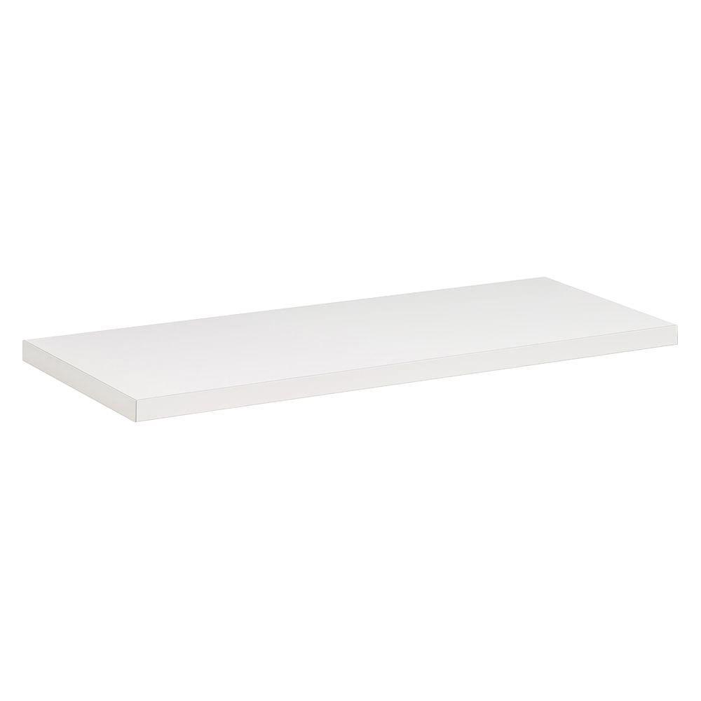 Dolle 23-1/2 in. x 8 in. x 3/4 in. Lite Shelf in White