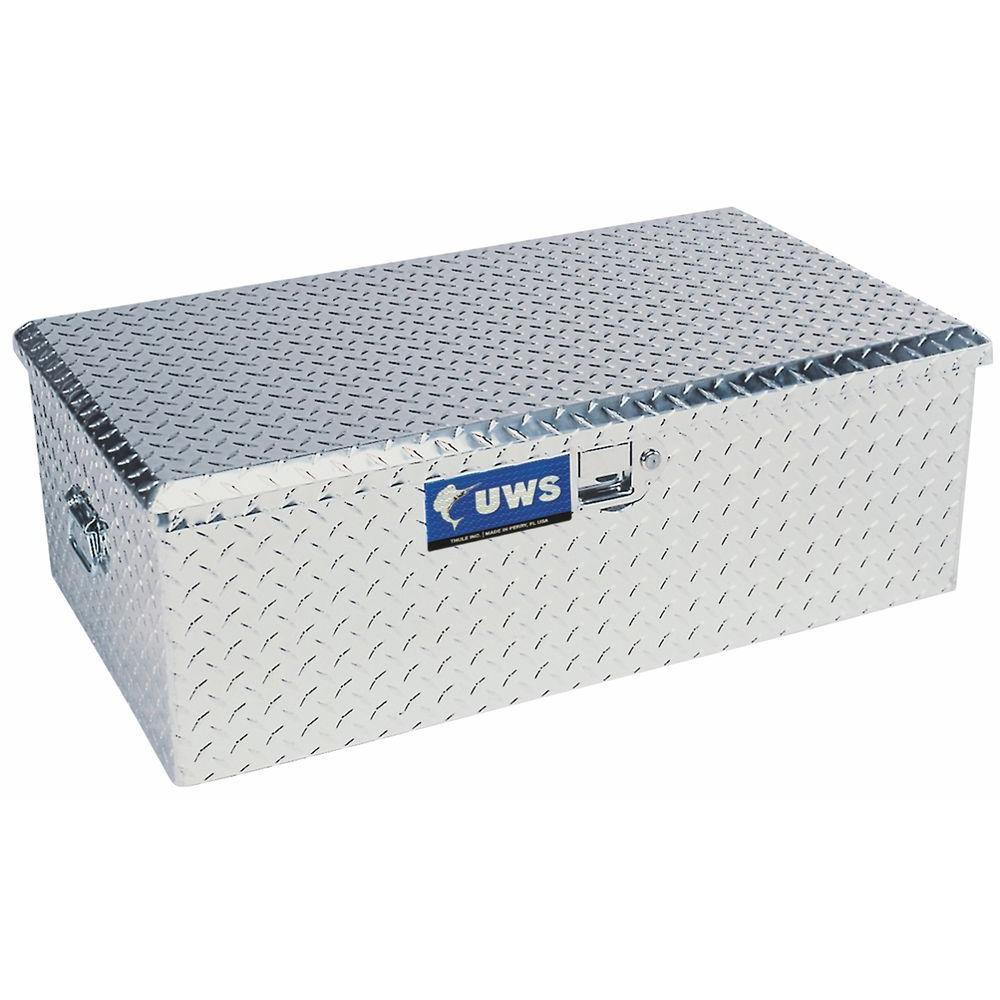 Aluminum Foot Locker with Storage Box