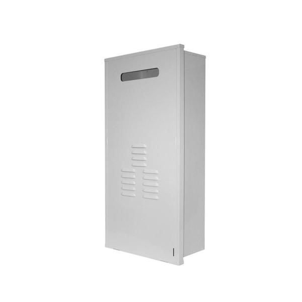 Universal Recess Box for Rinnai Super High Efficiency Plus Exterior Tankless Hot Water Heaters