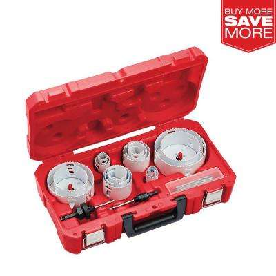 Hole Dozer Electricians Bi-Metal Hole Saw Set (19-Piece)