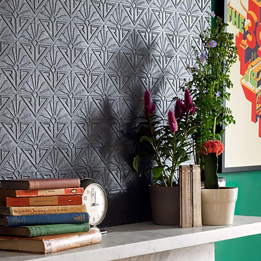 Deco Paradiso Paintable Luxury Vinyl Wallpaper