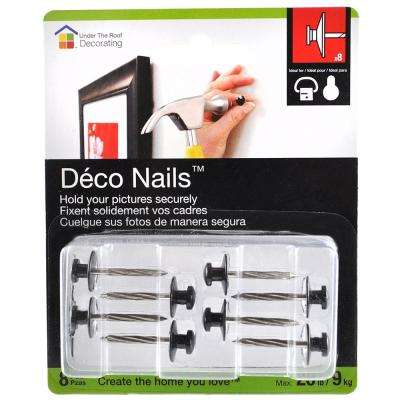 0.5 in. Small Head Deco Nails (8-Pack)
