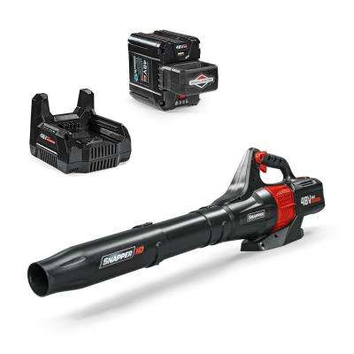 HD 120 MPH 450 CFM 48-Volt Lithium-Ion Battery Powered Handheld Leaf Blower 2.0 Battery and Charger Included