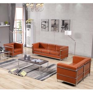 3 Piece Cognac Living Room Sets