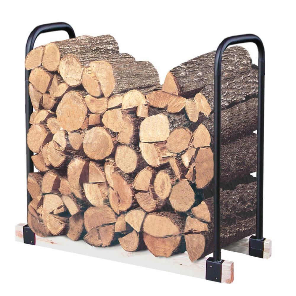 LANDMANN Adjustable Firewood Rack Bracket Kit by