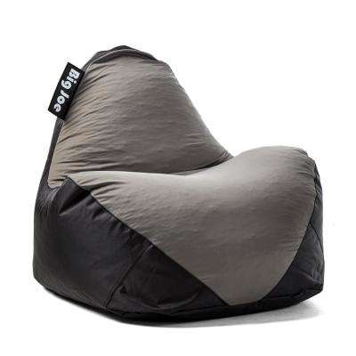 Warp Chair Black/Dark Grey Spandex and SmartMax Bean Bag