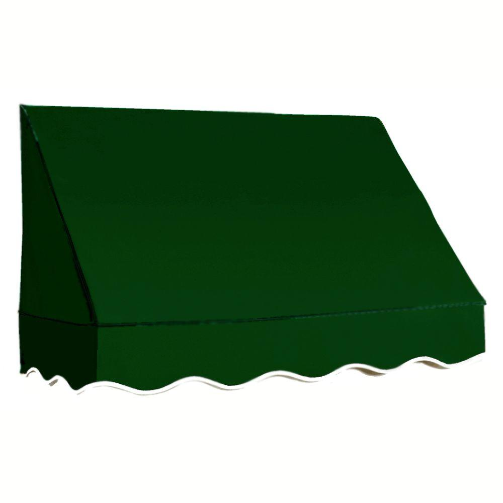 AWNTECH 6 ft. San Francisco Awning (31 in. H x 24 in. D) in Forest