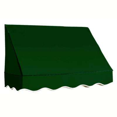 6 ft. San Francisco Awning (31 in. H x 24 in. D) in Forest