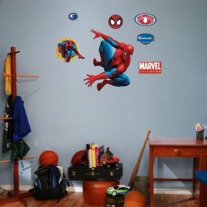 Spiderman And Assorted Wall Decals FH15 15996   The Home Depot