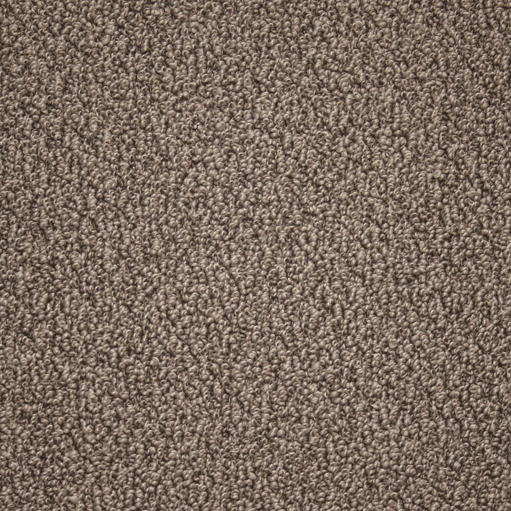 Kraus carpet sample paradise color owl gray texture 8 for Carpet underlay texture
