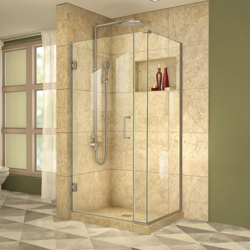 Corner Shower Doors Shower Doors The Home Depot