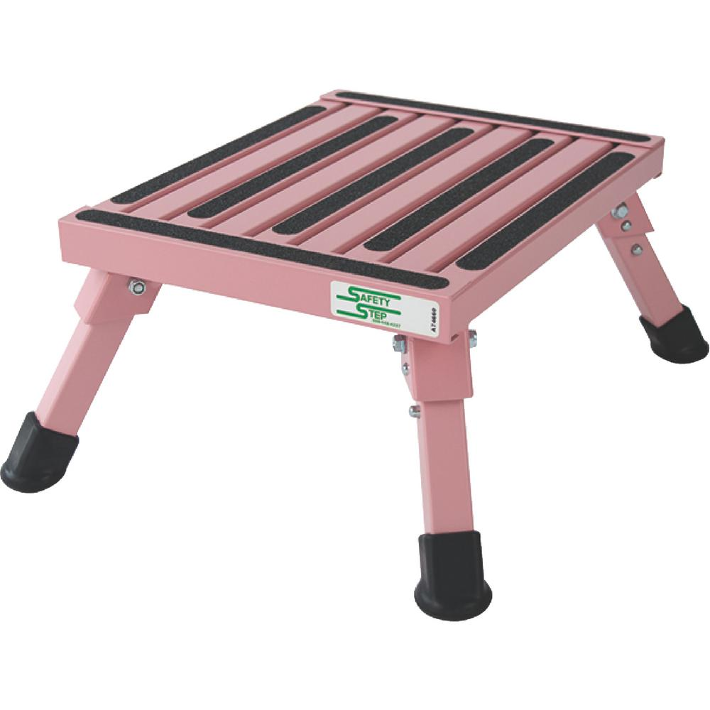 Safety Step Pink Small Folding Step S 07c P The Home Depot