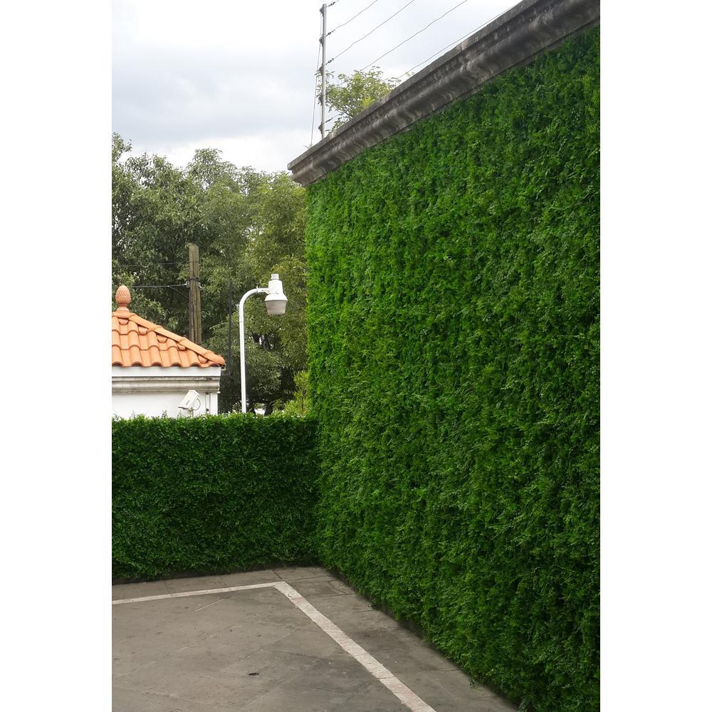 Greensmart Decor 20 In X 20 In Artificial Maya Wall