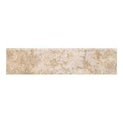 Campione Armstrong 3 in. x 13 in. Porcelain Bullnose Floor and Wall Tile
