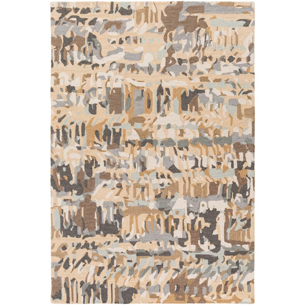 Haider Tan 2 ft. x 3 ft. Area Rug