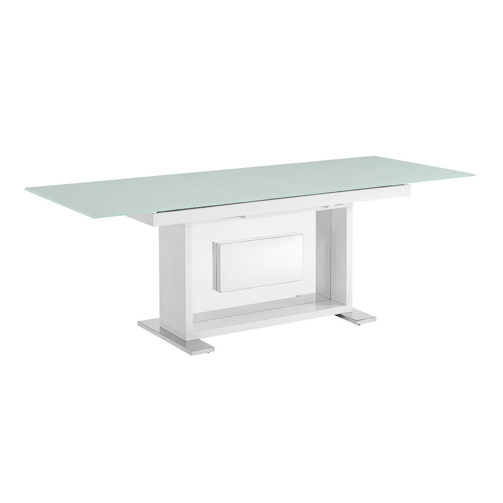 Picket House Furnishings Soho White Modern Dining Table