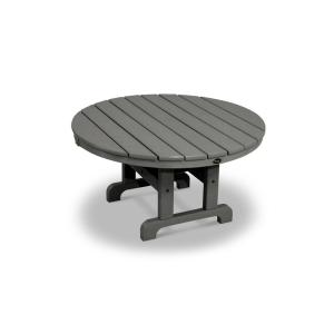 Trex Outdoor Furniture Cape Cod Stepping Stone 36 inch Round Patio Conversation Table by Trex Outdoor Furniture