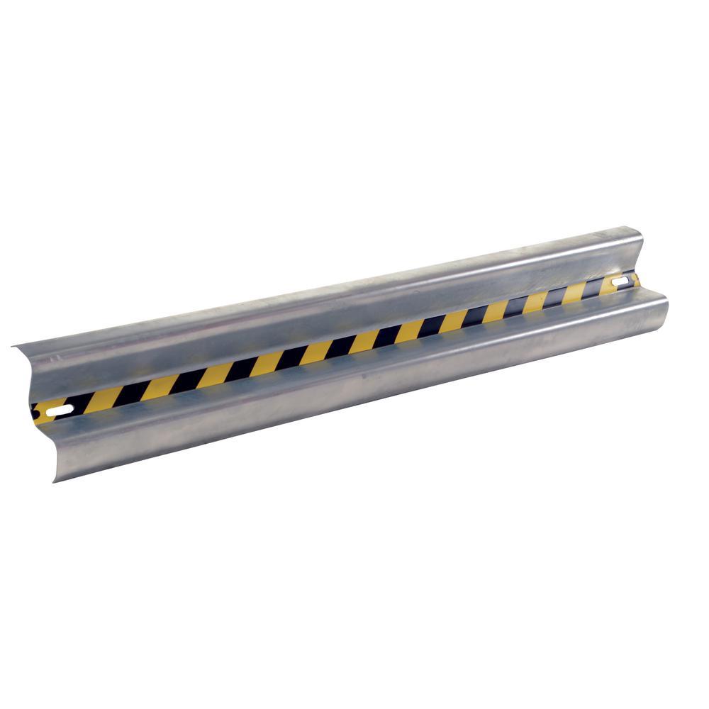 72 in. Galvanized Steel Guard Rail