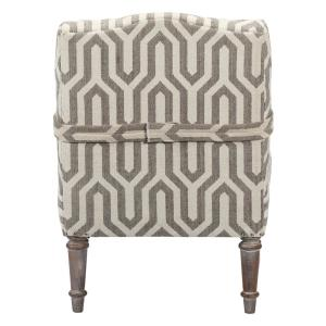 +8. Home Decorators Collection Alik Taupe Kilim Accent Chair