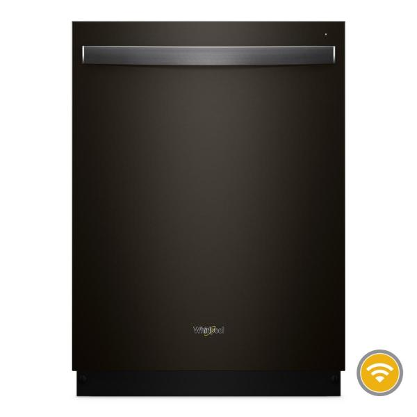 Top Control Smart Built-In Tall Tub Dishwasher in Black Stainless with Stainless Steel Tub, 47 dBA