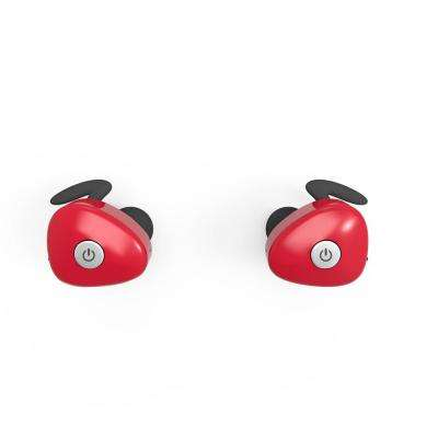 NKD50 100% Wireless Earbuds, Red