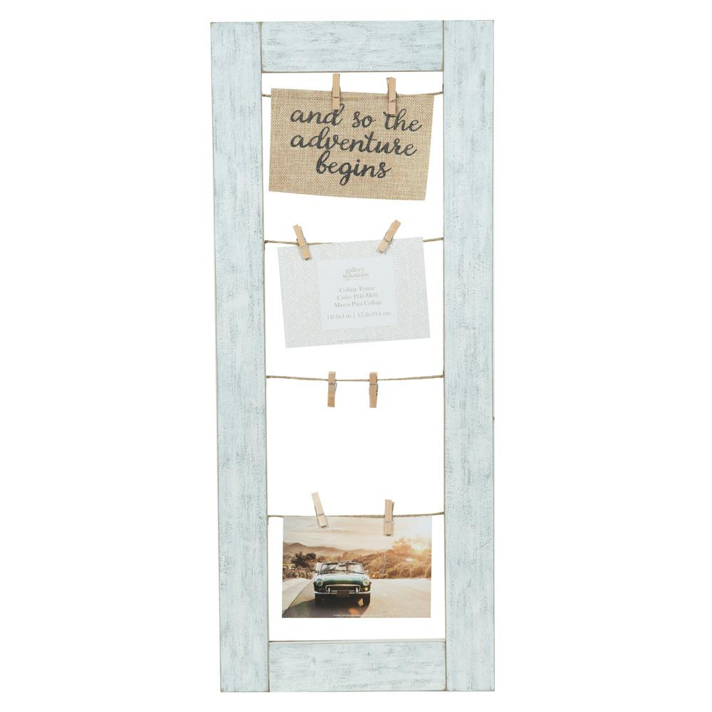 Pinnacle Collage Whitewash Clip Picture Frame from $15.83 - Nextag