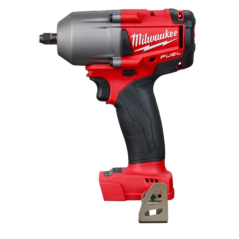 Milwaukee M18 FUEL 18-Volt Lithium-Ion Brushless Cordless Mid Torque 3/8 in. Impact Wrench with Friction Ring (Tool-Only)