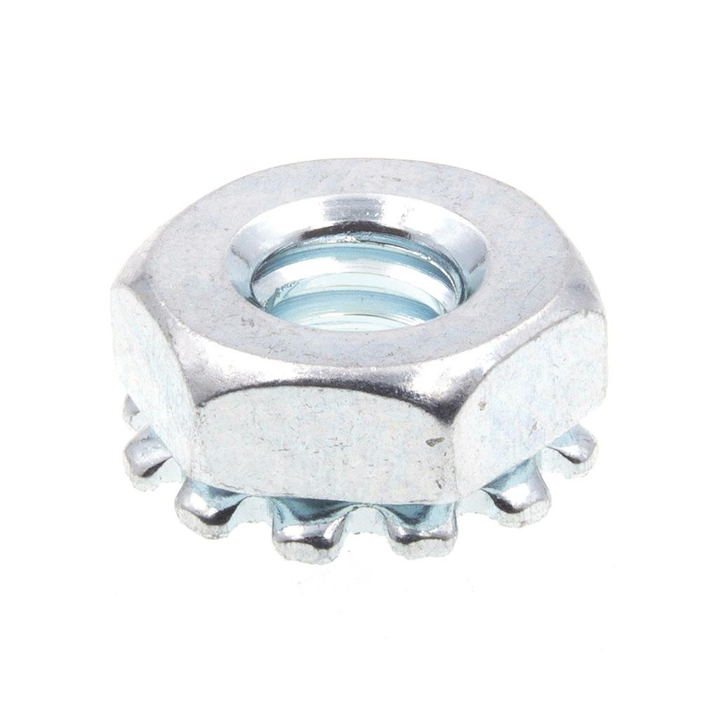 Prime-Line 9083103 Lock Washers Zinc Plated Steel External Tooth #8 50-Pack