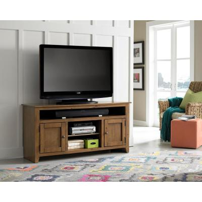 Progressive Furniture Rio Bravo 58 in. Medium Pine Entertainment Console