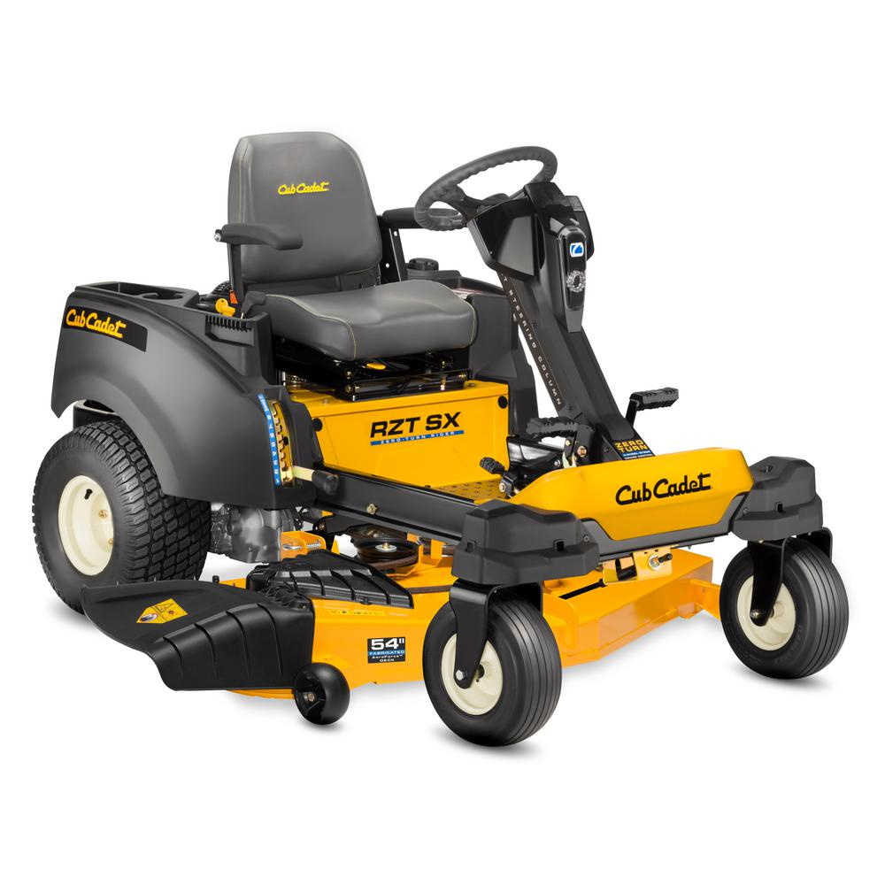 Cub Cadet RZT-SX 54 in. Fabricated Deck 21.5 HP Kawasaki Engine Gas Dual-Hydrostatic Zero Turn Lawn Mower