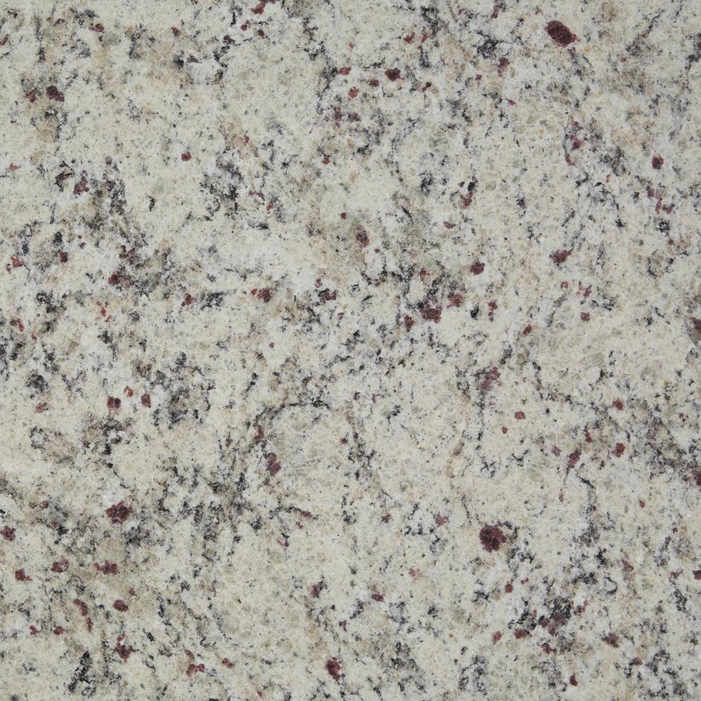 3 in. x 3 in. Granite Countertop Sample in St. Cecilia White Satin