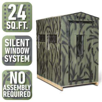 4 ft. x 6 ft. Insulated Gun and Bow Hunting Blind (Pre-Assembled)