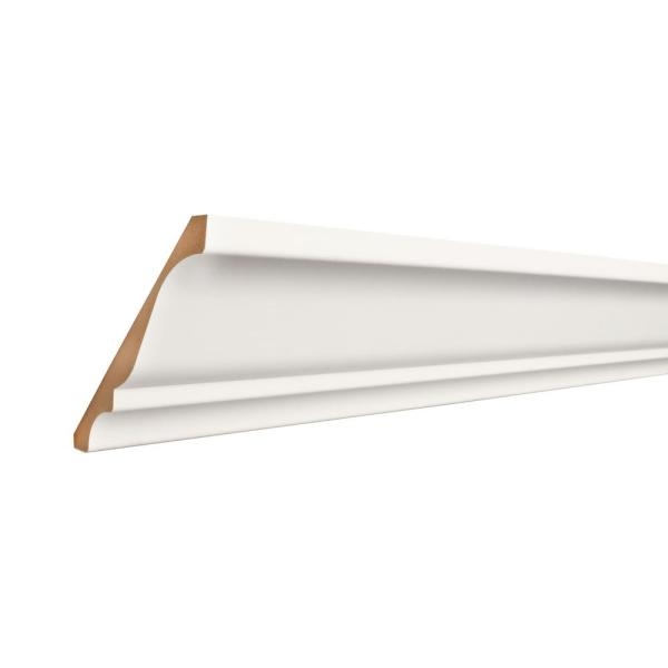 CoverTrim 19/32 in. x 5-1/4 in. x 96 in. MDF Crown Moulding