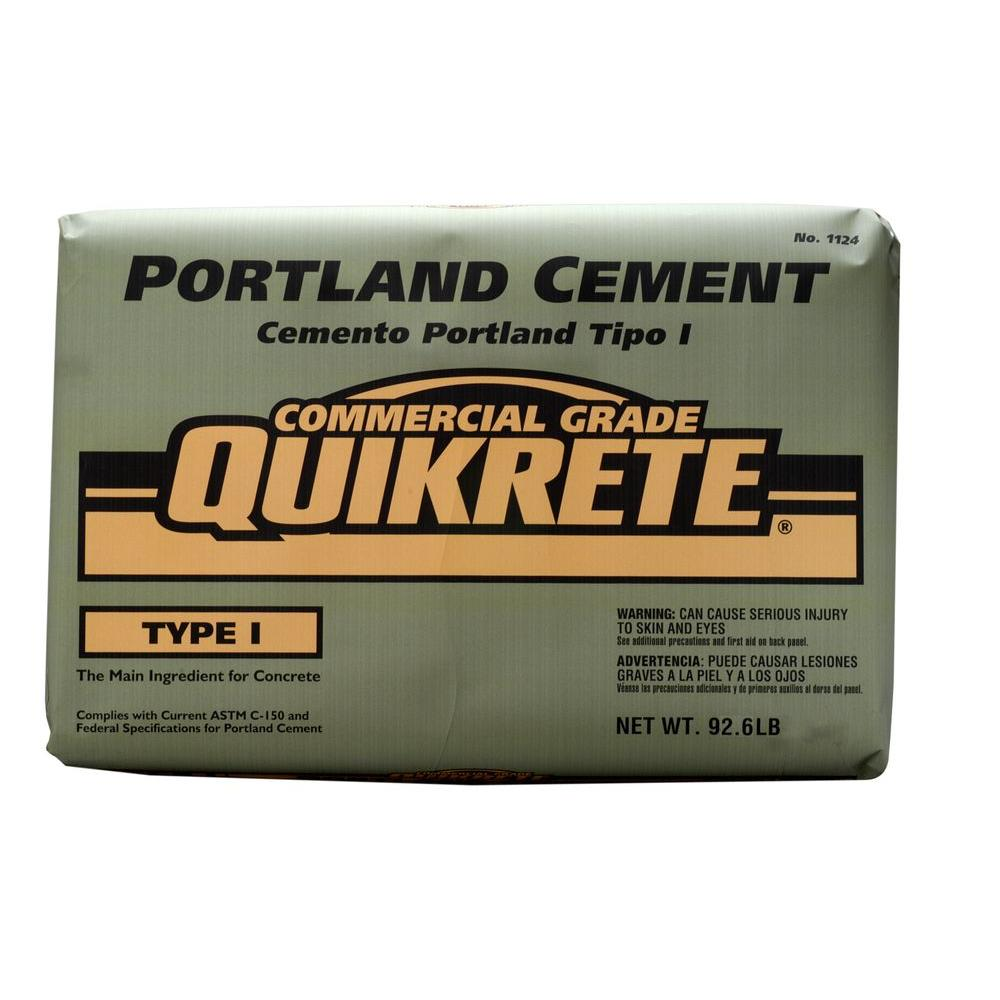 Using Portland Cement : Quikrete lb portland cement the home depot