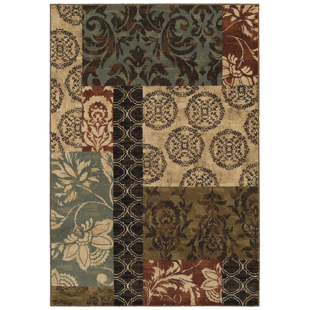 Home decorators collection finley patchwork multi 7 ft 10 for Home decorators echelon rug