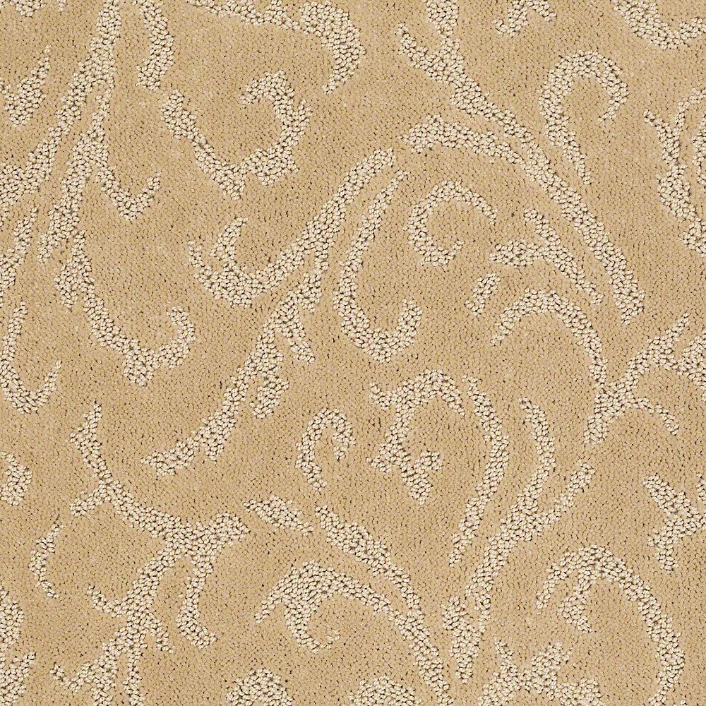 Carpet Sample - Amusing - In Color Aztec Bronze 8 in. x 8 in.