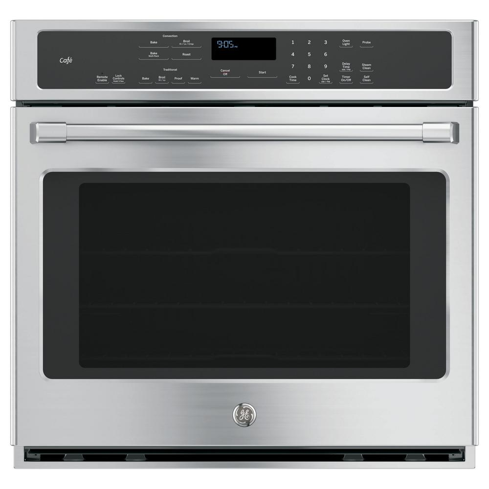 Ge 30 In Single Electric Smart Wall Oven Self Cleaning