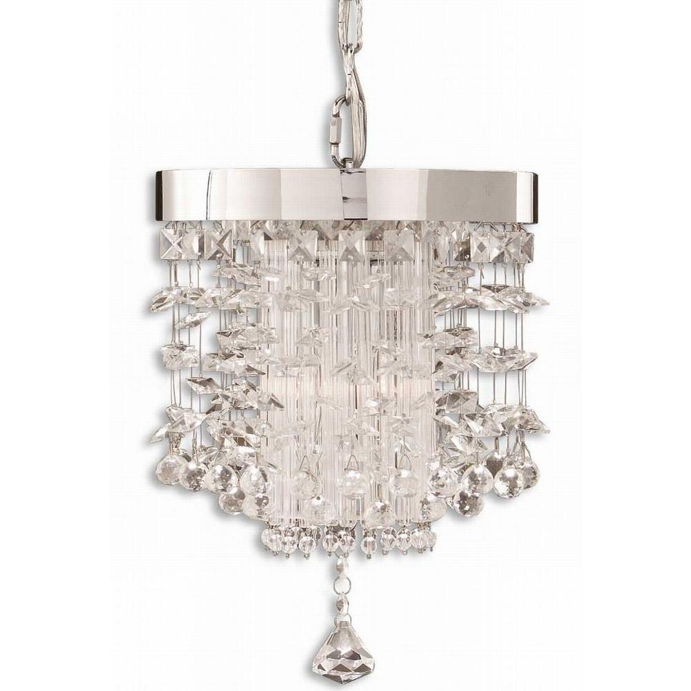 Global Direct Fascination Crystal Mini Pendant-DISCONTINUED