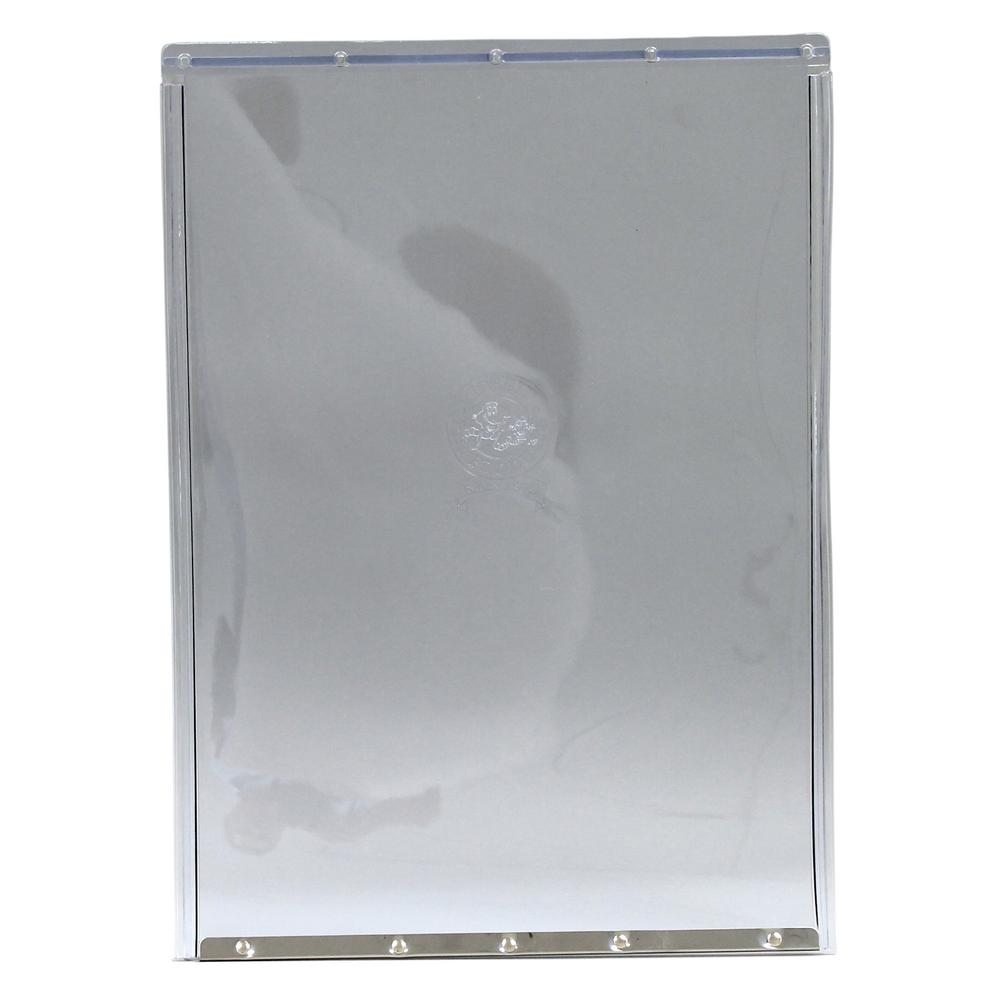 Ideal Pet 15 in. x 20 in. Super Large Replacement Flap for Original and Aluminum Frames-New Style Has Rivets On Bottom Bar