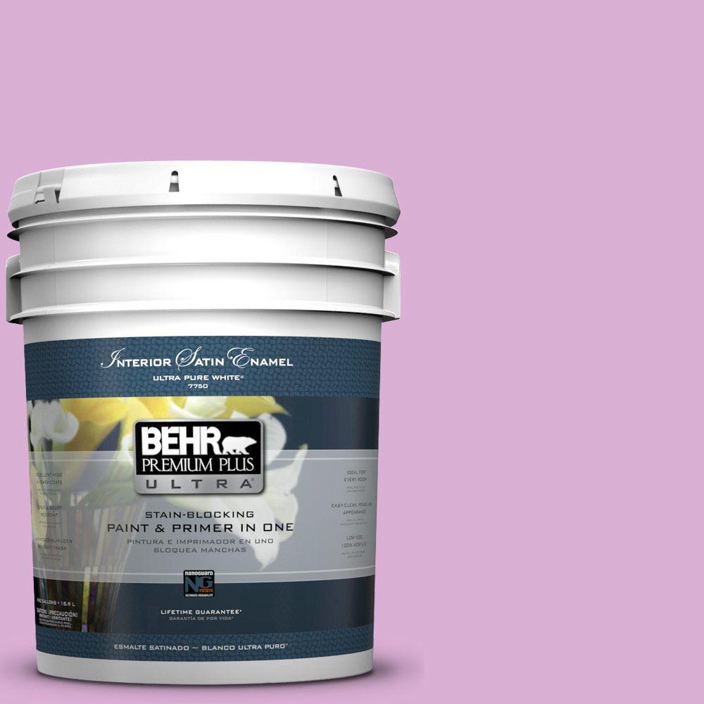 BEHR Premium Plus Ultra 5-gal. #P110-3 BFF Satin Enamel Interior Paint