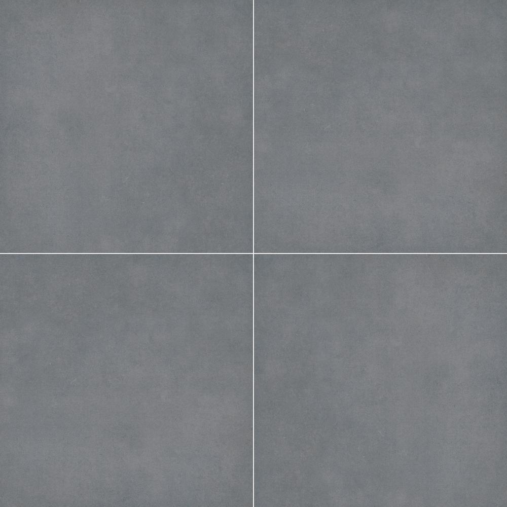 Tru Blue Stone 24 in. x 24 in. Matte Porcelain Paver Floor Tile (14 Pieces/56 sq. ft./Pallet)