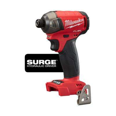 M18 FUEL SURGE 18-Volt Lithium-Ion Cordless Brushless 1/4 in. Hex Hydraulic Impact Driver (Tool-Only)