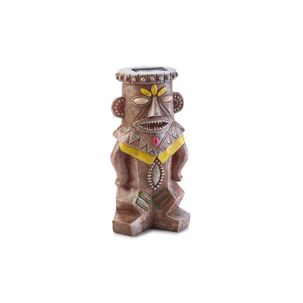 11.6 in. H Good Luck Solar Juju Statue