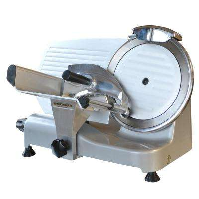 250 W Silver Electric Meat Slicer