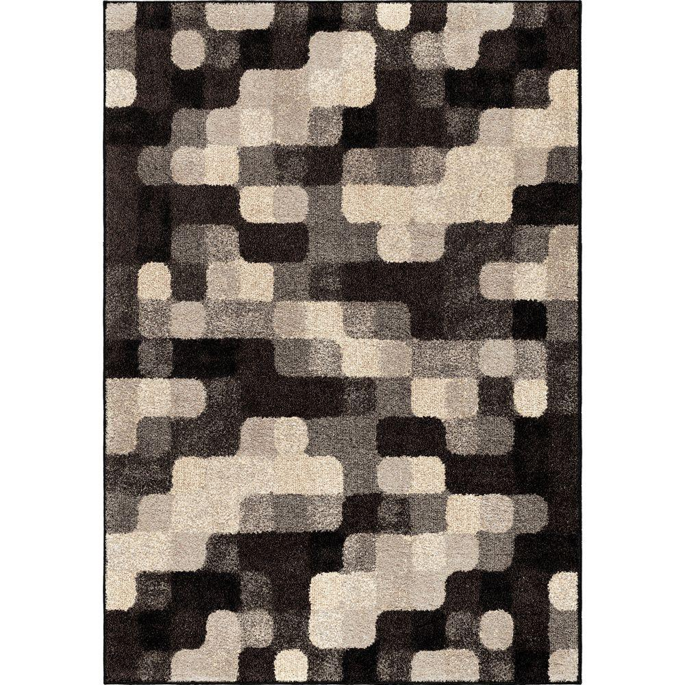 Orian Rugs Patterson Charcoal: Orian Rugs Wichita Multi 7 Ft. 10 In. X 10 Ft. 10 In