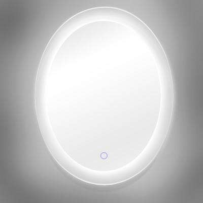Royal 25 in. x 35 in. Oval Round LED Backlit Vanity Bathroom LED Mirror with Touch On/Off Dimmer and Anti-Fog Function