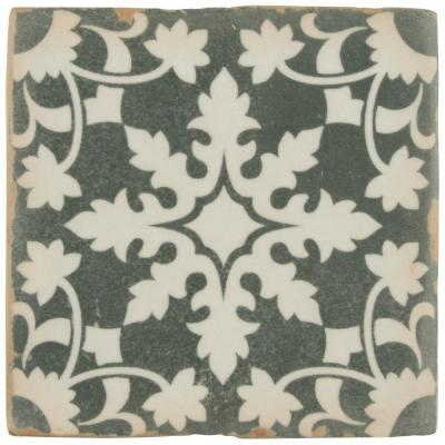 Archivo Zahra Encaustic 4-7/8 in. x 4-7/8 in. Ceramic Floor and Wall Tile (5.84 sq. ft. / case)